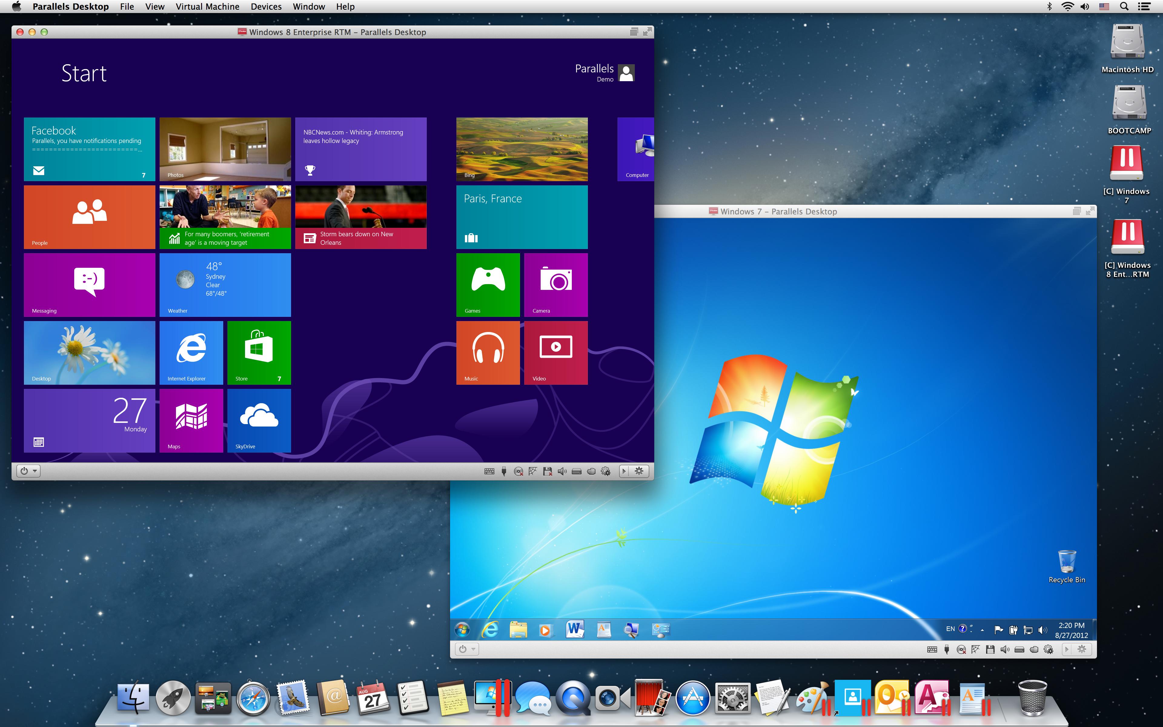 Как сделать из mac в windows